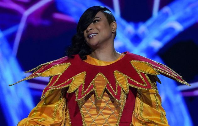 Gabrielle was revealed to be The Masked Singer's