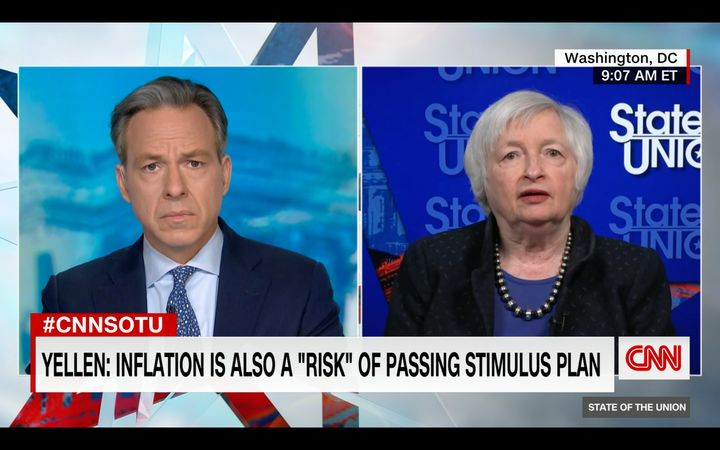 Treasury Secretary Janet Yellen said the U.S. could see a return to full employment by next year if President Joe Biden's pro