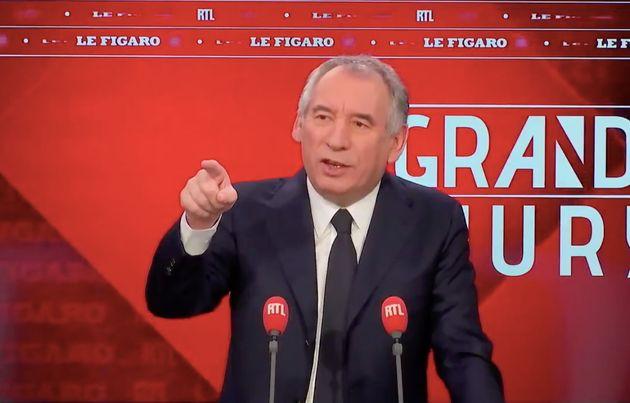 Pour Bayrou,