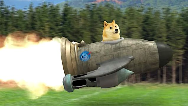 Elon Musk Sending Dogecoin To Space After His 'SNL' Jokes Smacked It On The Nose.jpg