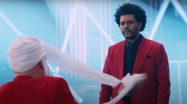 The Weeknd gets an unwanted visitor in James Corden's new