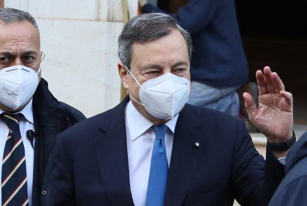 """Draghi riprende le consultazioni. Maie-Psi: """"Pilastri sono Ue, riforme, lavoro,"""