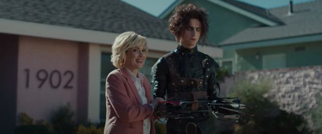 Winona Ryder and Timothée Chalamet serve up some 90s nostalgia in a new Cadillac