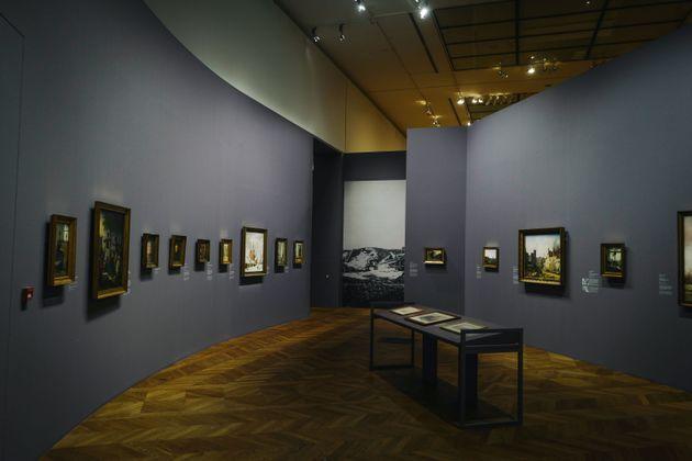 Au Petit Palais, à Paris, lors de l'exposition L'Âge d'or de la peinture danoise, le 18 septembre