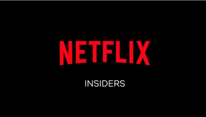 Cabecera de 'Insiders' de Netflix.