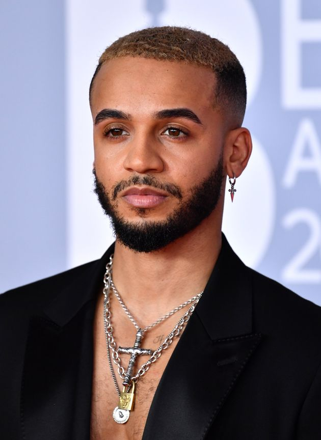 Aston Merrygold at the 2020 Brit