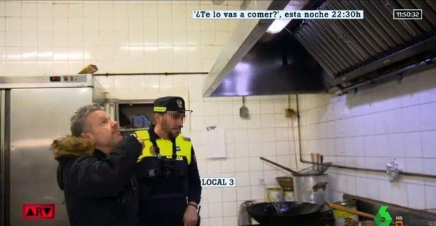 Alberto Chicote, en la cocina del