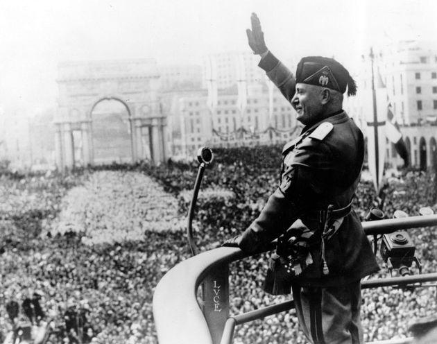 El dictador italiano Benito Mussolini (1883 -