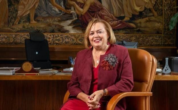 Rosa Menéndez, presidenta del Consejo Superior de Investigaciones Científicas (CSIC).
