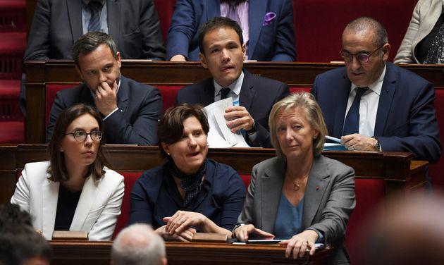 Adrien Taquet, Secrétaire d'Etat à la protection de l'enfance etCédric O,...