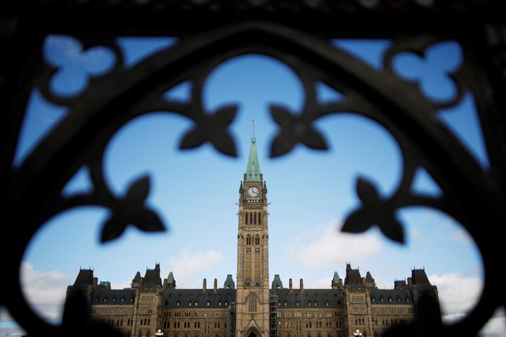 General view of the Centre Block on Parliament Hill in Ottawa, Ontario, Canada September 17, 2020.  REUTERS/Blair Gable