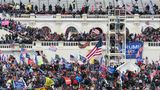 "The Capitol building in Washington, D.C. was breached by thousands of protesters during a ""Stop The Steal"" rally in support of Donald Trump on Jan. 6, 2021."