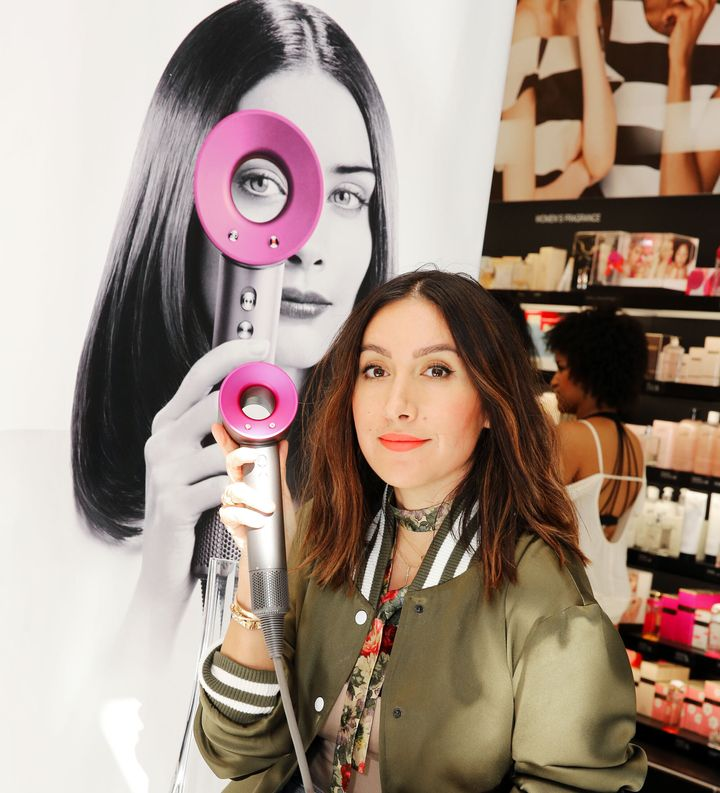 Celebrity hair stylist Jen Atkin endorsed the Dyson Supersonic hair dryer at a Los Angeles event in 2016.