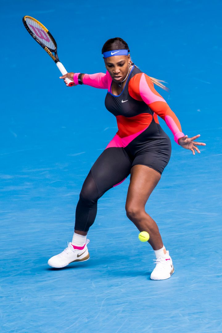 Serena Williams serving Flo-Jo vibes at day one of the Australian Open.