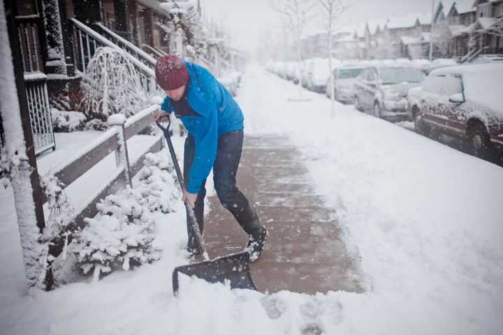 Does your partner hate shovelling snow? Offer to do it for them.