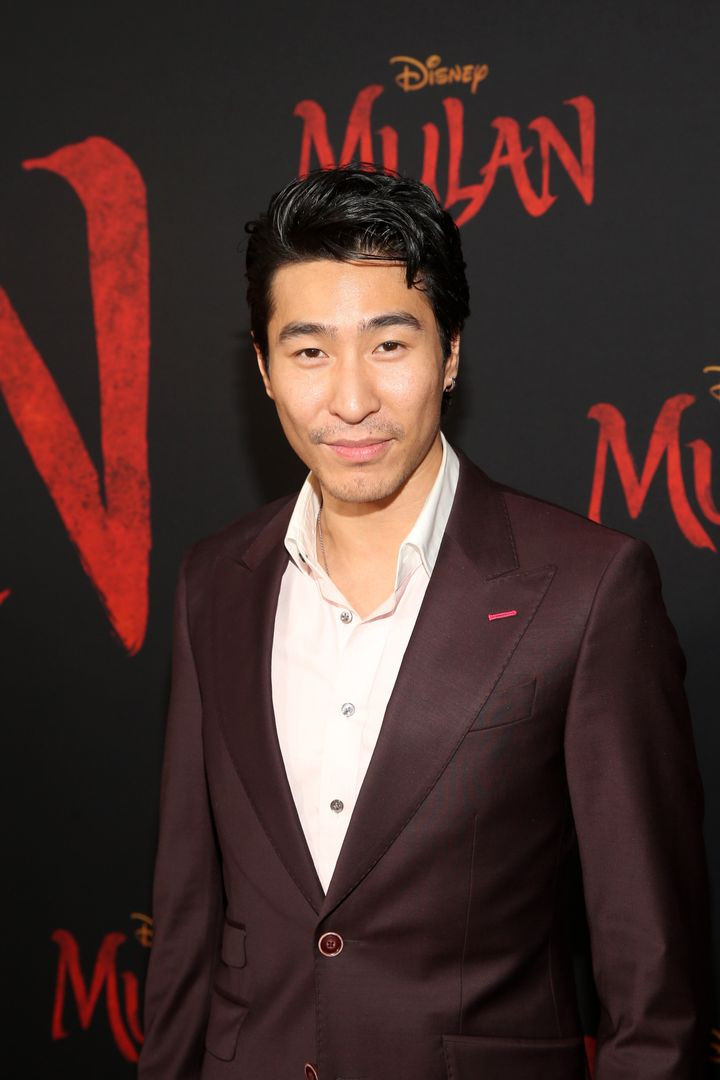 Chris Pang attends the World Premiere of Disney's 'MULAN' at the Dolby Theatre on March 09, 2020 in Hollywood.