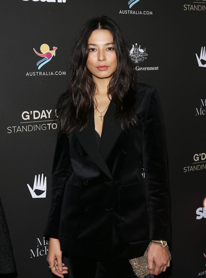 Jessica Gomes attends the G'Day USA 2020 held at Beverly Wilshire, A Four Seasons Hotel on January 25, 2020 in Beverly Hills.