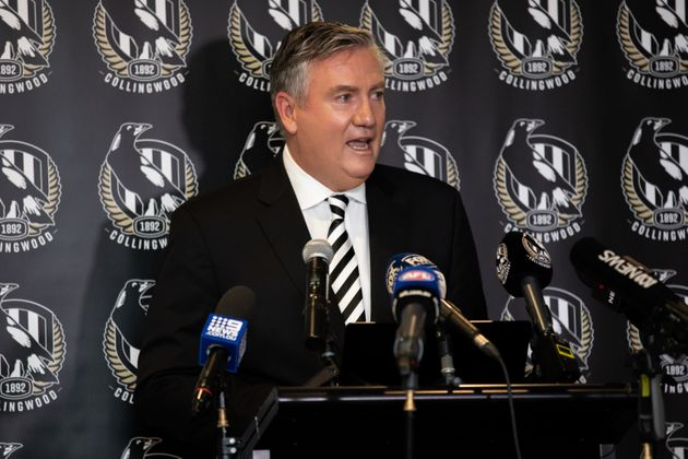Eddie McGuire stood down as Collingwood Football Club president on