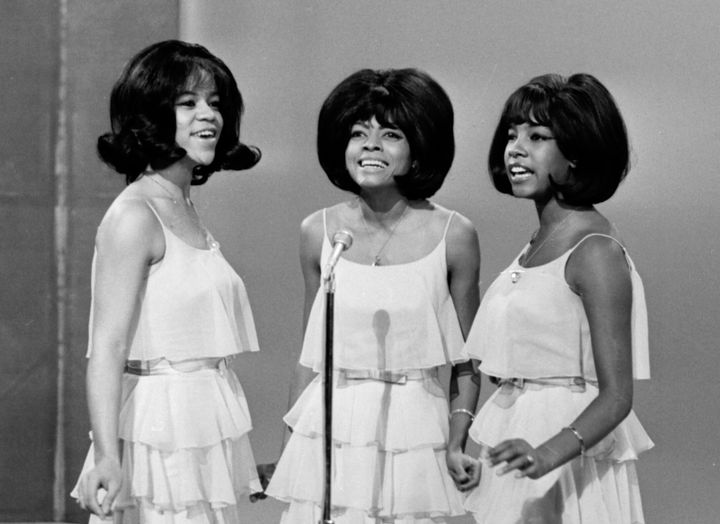 "The Supremes performed on ""The Ed Sullivan Show,"" in 1964. From left: Florence Ballard, Diana Ross and Mary Wilson."