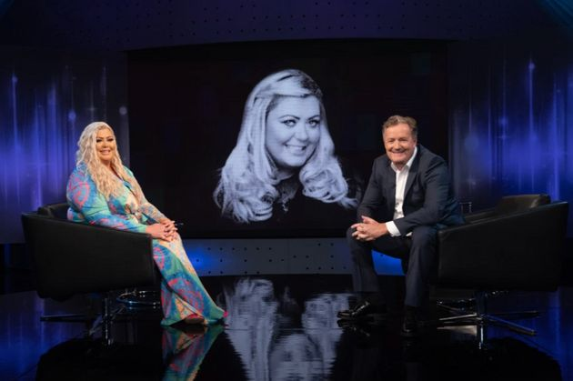 Gemma Collins and Piers