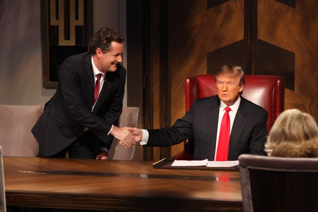 Piers Morgan and Donald