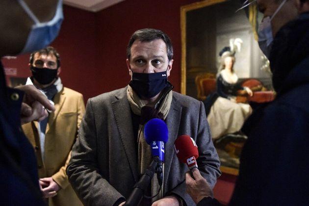 Le maire de Perpignan, Louis Aliot, ici au musée Hyacinthe Rigaud, veut que l'on