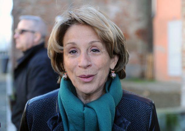 Brigitte Bareges le 6 février 2014 dans le centre-ville de