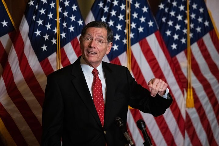 Sen. John Barrasso (R-Wyo) on Monday became the second senator to signal he'd vote against Rep. Deb Haaland's nomination to l