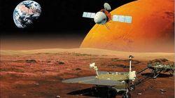 La Chine atteint Mars pour la première fois, le début d'une longue course face à la