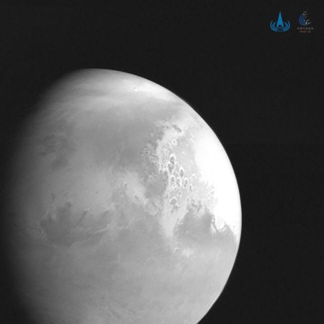 Photo de Mars prise de la sonde