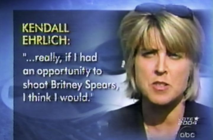 Former Maryland first lady Kendel Ehrlich's quote as it was shown during Diane Sawyer's interview with Britney Sp