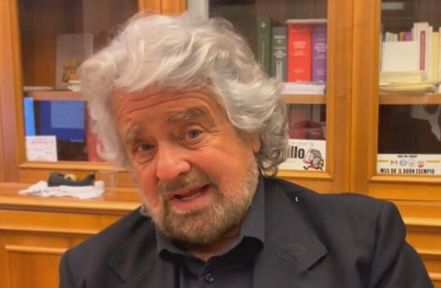 Beppe Grillo, diretta