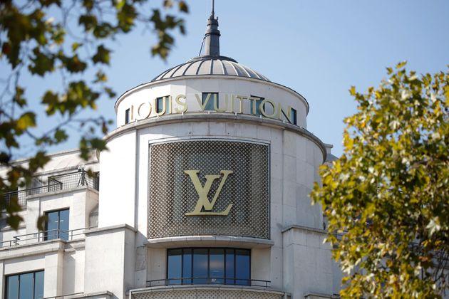 La ville de Vendôme vend son nom à Vuitton pour 10.000 euros (photo du 18 septembre 2020,...