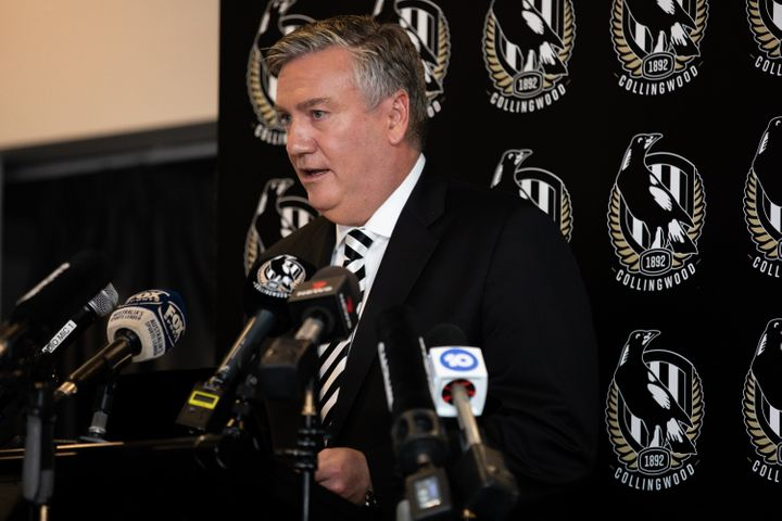 Eddie McGuire resigns effective immediately as Collingwood Football Club president on Tuesday in Melbourne.