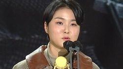 청룡영화상 현장에 울려 퍼진 '성폭력 피해 생존자'를 향한