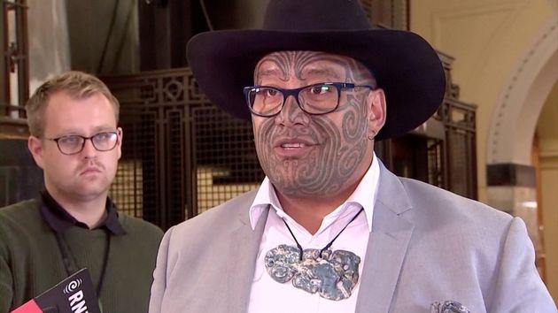 New ZealandMaorileaderRawiri Waititi was ejected from parliament this week for refusing...
