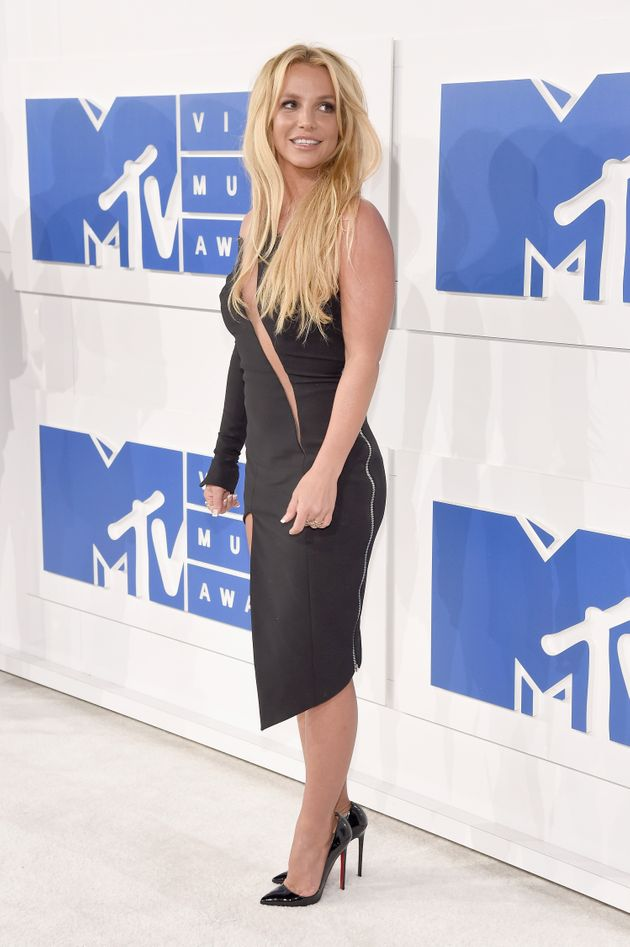 Britney Spears at the MTV VMAs in