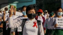 Protests Rock Myanmar For Fifth Day, West Condemns Use Of Force Against Protesters