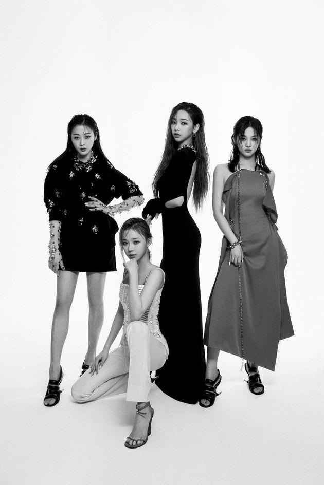 A girl group selected as Givenchy's Global Ambassador