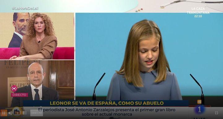 El polémico rótulo de TVE.