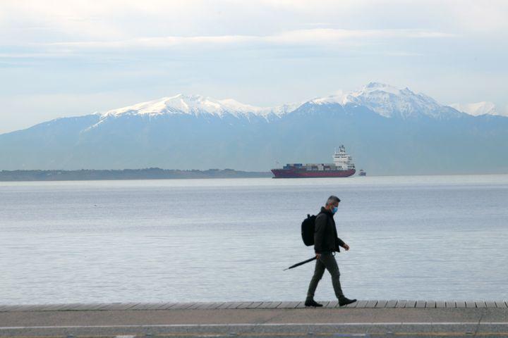 Βόλτα στην παραλία Θεσσαλονίκης