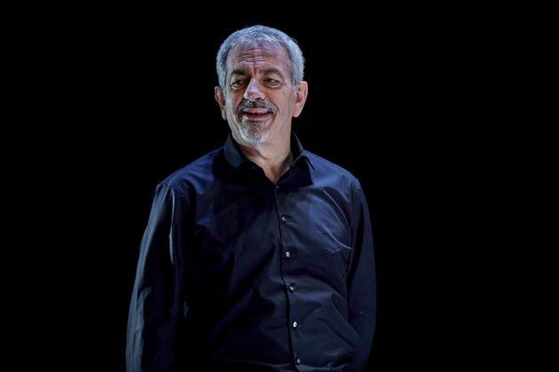 Carlos Sobera en la obra 'Asesinos' en el Teatro Reina Victoria el 4 de febrero de