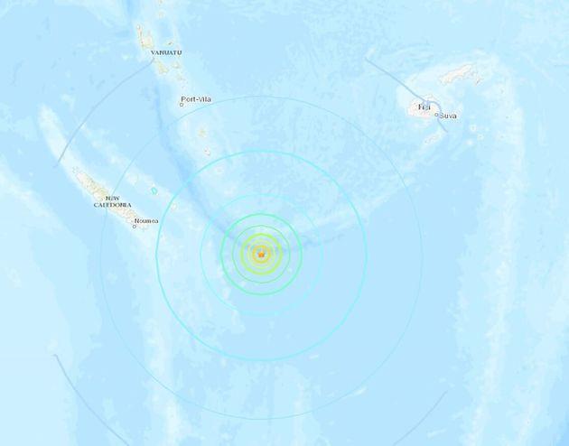 Σεισμός 7,5 ρίχτερ στη Νέα