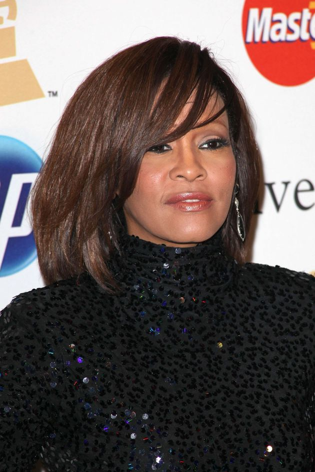 Whitney Houston, who died in