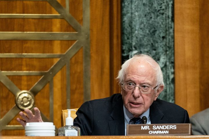Sen. Bernie Sanders (I-Vt.), an left-wing independent who caucuses with Democrats, used Neera Tanden's confirmation hearing t