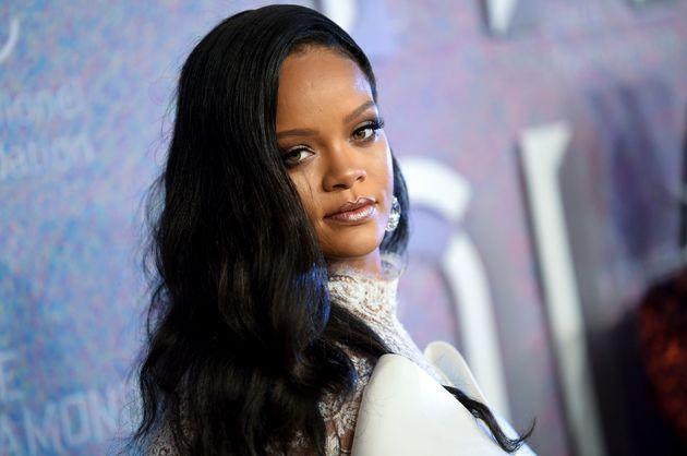 Rihanna en septembre 2018 lors d'un événement à New York, peu avant le lancement...