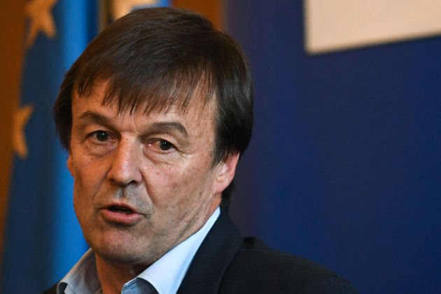 Former French Minister of Ecological and Inclusive Transition Nicolas Hulot (Photo by Jean-Francois MONIER...