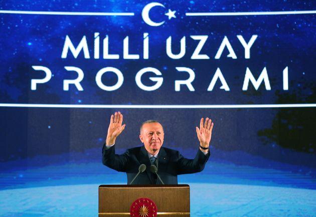 Erdogan parla del programma spaziale