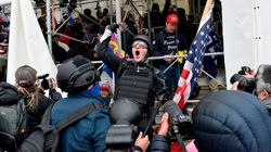 Shocking New Video Shows How Close Violent Mob Came To Top US