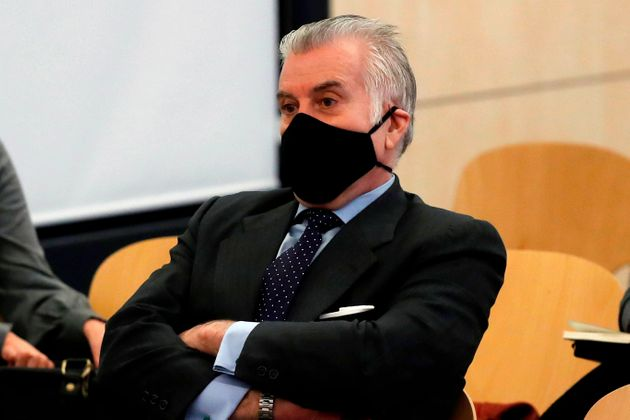 Luis Bárcenas, el pasado 8 de febrero, en la Audiencia